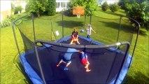 Un et un à un un à à gymnastique parc partie Trampoline 2