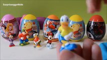 Oeuf des œufs déballage mickey kinder surprise enfants surprise œufs surprise Uova apertura