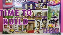 Brique construire par par amis grandiose un hôtel Hôtel brumeux examen Les amis de lego |