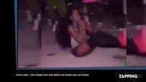 Etats-Unis : une femme fait une drôle de danse sur les fesses (vidéo)