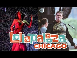 Lorde cantando na chuva e Liam Gallagher abandonando o palco | Lollapalooza Chicago