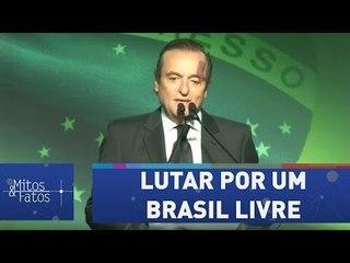 """""""Jamais deixaremos de lutar por um Brasil livre"""", diz Tutinha"""