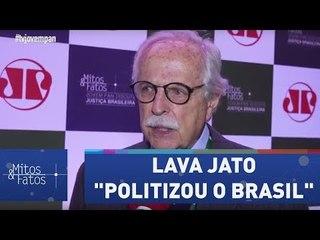 "Para Modesto Carvalhosa, Lava Jato ""politizou o Brasil"""