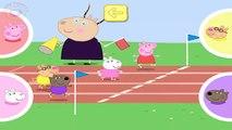 Pour amis des jeux sa dans saut de longue boueux porc en jouant flaques deau le le le le la avec pep pep ☀