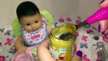 Étonner américain bébé poupée fille apprentissage repas Ensemble avec Bitty vtech