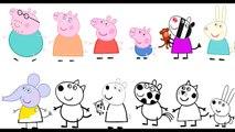 Cumpleaños libro para colorear para Niños páginas fiesta cerdo pep pep pep myfun