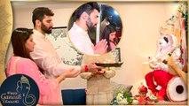 Kratika Sengar And Nikitin Dheer Perform Ganpati Aarti | Ganesh Chaturthi 2017