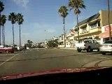 Arrivée à Newport Beach, O.C.