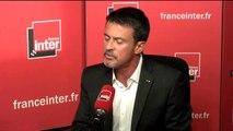 """Manuel Valls : """"Je pense que la voix républicaine, laïque, sociale, que j'incarne, sera utile d'une manière ou d'une autre"""""""