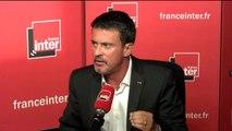 """Manuel Valls : """"Je suis de gauche, je n'ai pas changé d'un iota"""""""