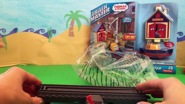 Thomas and Friends Trackmaster Harolds Helipad and Captain at the Rescue Center