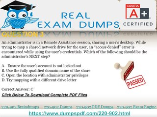 How Can I pass my 220-902 Exam