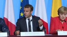 """Macron veut """"identifier"""" les migrants au Niger et au Tchad"""