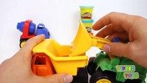 Ciment béton amusement amusement enfants table de mixage moules jouer rouleau Ensemble jouets un camion Construction de Doh