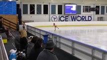 1er compétition de la glace dans dames préliminaire patinage 2016