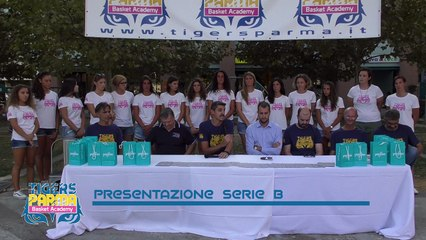 Conferenza stampa Tigers Parma Basket Academy Stagione 2017-2018