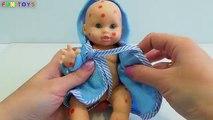 Vivant à bébé poupée fixation hôpital Japonais jouer avec Doc mcstuffins popo ambulance doh vo