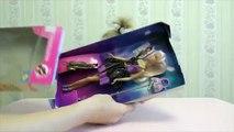 Poupée déballage et jouets ✿ poupée Barbie poupée Barbie mini-château unboxing Barbie Barbi examen