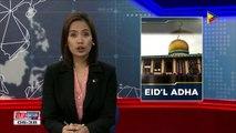 September 1, idineklarang regular holiday dahil sa Eid'l Adha