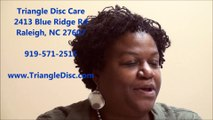 Herniated Disc | Sciatica | Leg Pain | Review Triangle Disc Care