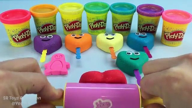 Vanz Toys Play Doh Sparkle Star Lollipops Happy Smiley Face Messages Cookie Cutters Fun Le
