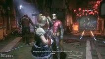 Homme chauve-souris Chevalier partie procédure pas à pas Arkham gameplay 28 harley quinn ps4