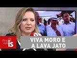 Joice Hasselmann: Imparcialidade uma ova! Viva Moro e a Lava Jato