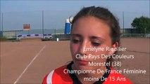 Championnats de France de boules lyonnaises (2) à Auxerre en 3 videos