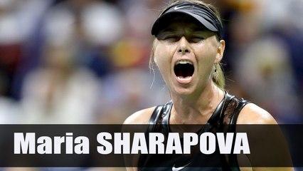 Maria Sharapova Very Emotional Celebration - Us Open 2017 (HD)