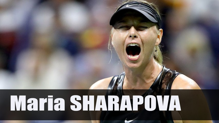 Maria Sharapova Very Emotional Celebration - Us Open 2017 (HD)