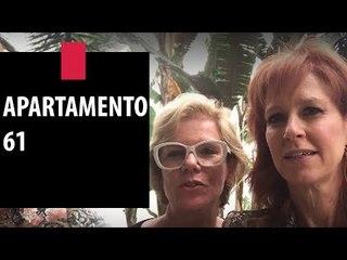 Zize Zink e Graça Salles visitam o Apartamento 61 | Decor JP