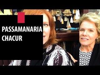Zize Zink e Graça Salles visitam o Passamanaria Chacur | Decor JP