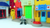 Playmobil police Western : Bank robbery at the playmobil western city bank