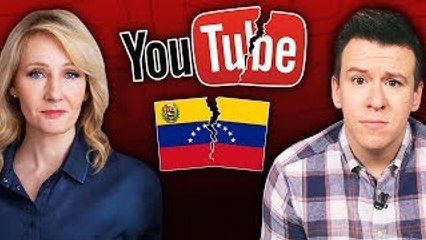 J.K. Rowling Promotes Fake News, YouTuber Loses Scholarship Over Video, and Venezuela In C