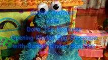 Biscuit comte croquer en train de manger Oeuf explorateur monstre le le le le la visites avec N dora kinder surprises b