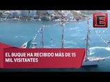 Buque Cuauhtémoc participará en regata de grandes veleros