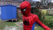 Homme chauve-souris bataille dans enfants vie réal super-héros super-héros V Superman |