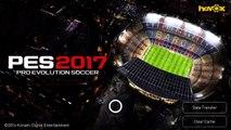 Androide por evolución primero primera jugabilidad fútbol equipo Pes 2017 pro konami ios creati