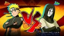 Anglais orage ultime contre Naruto ninja 2 naruto orochimaru s-rank hd