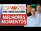 E as 5 eliminações em Itaquera? Vampeta rebate piadas ao Corinthians   Esporte em Discussão