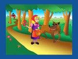 Jai le Le petit chaperon rouge Loup dessin animé synchronisé