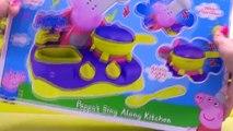 Et couleur cuisine Coupe Coupe aliments nourriture cuisine Apprendre des noms de de porc jouet Peppa velcro sha