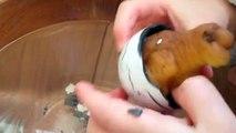 Dino World Schleimknete im Dino-Ei LEUCHTENDEN Dino-Eiern GLOWING DINO EGGS