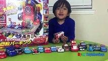 Grandes coches huevo Niños relámpago estacionamiento para mi juguetes ruedas Disney Pixar Ferris sorprendió McQueen