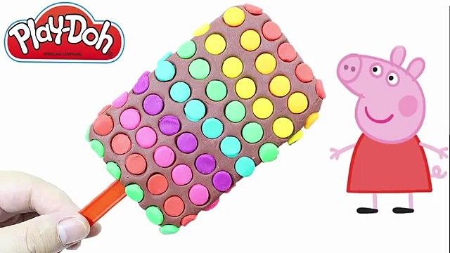 Peppa Pig Dublado em Português Brasil - Episódios Completos! Learn Colors Play Doh Mickey