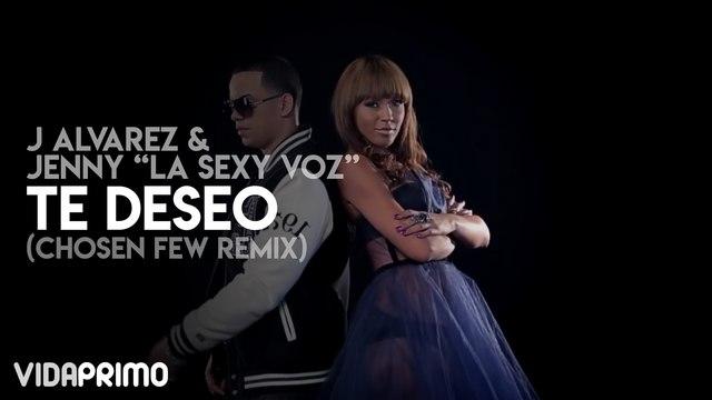 J Alvarez y Jenny La Sexy Voz - Te Deseo