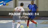 Futsal : Pologne-France (3-4), les buts