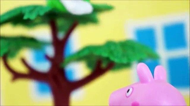 Pig George da Família Peppa Pig Patrulha Canina no Resgate da Peppa Pig na Piscina! Em Por