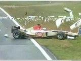 Formule1 crash f1 honda f1 team