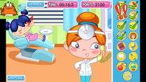 Niños para y tratar los dientes dentista dibujos animados niños niñas juego de dibujos animados niños